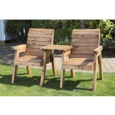 Twin Wooden Companion Set